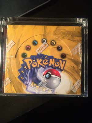 Spanish - Base Set Booster Box - Factory Sealed with Acrylic Case for Sale in Irving, TX