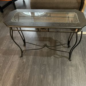 Glass Console Table for Sale in West Linn, OR