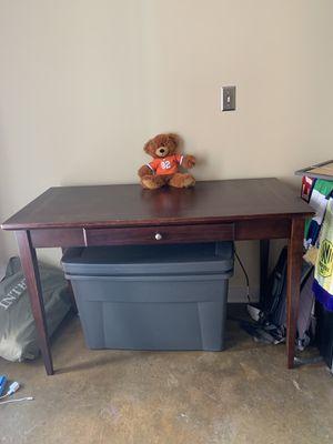Wooden desk for Sale in Nashville, TN