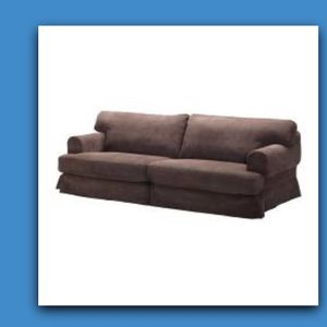 IKEA Hovas 3-seater Brown Corduroy Slip Cover (SLIP COVER ONLY) for Sale in Encinitas, CA