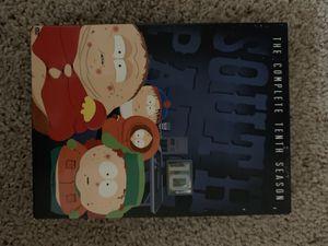 South Park season 10 dvd for Sale in Rancho Cordova, CA