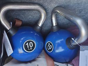 10 lb kettle bells - Last 2 for Sale in Long Beach, CA