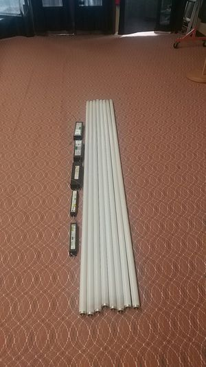 FREE fluorescent ballasts (5) and 8' foot bulbs (8) for Sale in Easley, SC