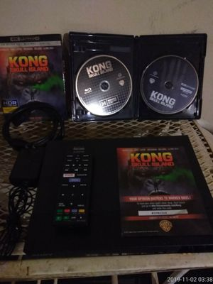 Sony 4k Upscale 3D Blu-ray wireless Lan Built in Bluetooth with movie 4k Ultra HD Blu-ray Digital for Sale in Covington, GA