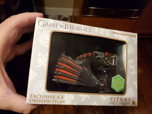 SDCC exclusive Titans Drogon Collectible for Sale in Portland, OR