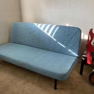 IKEA NYHAMN Sleeper Sofa (Futon) with Pocket Spring Mattress and Mattress Pad for Sale in Beverly Hills, CA