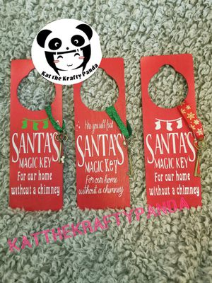 Santa's Magic Key Door Hanger for Sale in Carrollton, TX