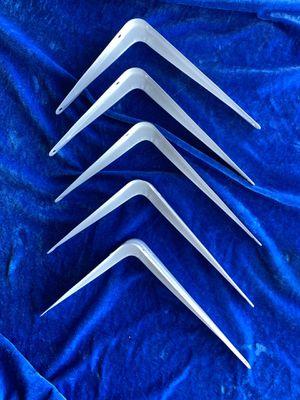 """5 pieces-8"""" Shelf Brackets for Sale in Las Vegas, NV"""