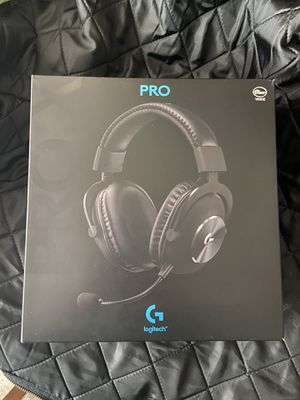 logitech g pro x gaming headset with 7.1 audio for Sale in Mission Viejo, CA
