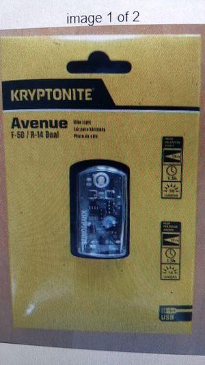 Kryptonite Bike light New in Box for Sale in Bellevue, WA