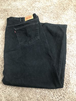 Black Levi's size 48 by 32 for Sale in Menifee, CA