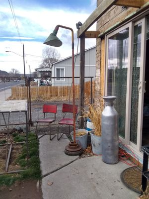 Vintage metal chairs for Sale in Prineville, OR