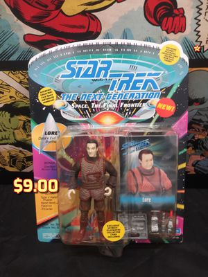 1993 Playmates Star Trek The Next Generation Action Figure Lore MOC Data's Evil Twin for Sale in Oakland, CA