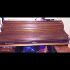 Antique Wall Top Desk for Sale in Houston, TX