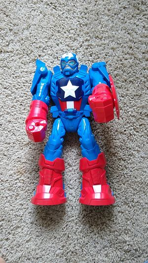 "12"" Marvel Captain America figure for Sale in Olympia, WA"