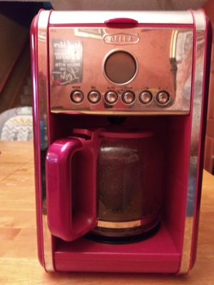 Bella Red 12 Cup Coffee Maker for Sale in Kernersville, NC