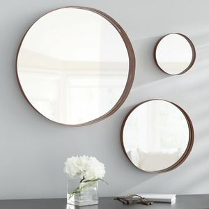 3 piece round wall mirror set for Sale in Hoboken, NJ