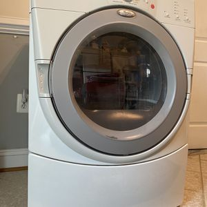 Whirlpool Electric Dryer Color White, Full Load for Sale in Alexandria, VA