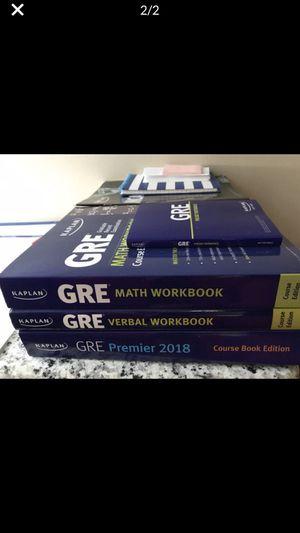 GRE BOOKS for Sale in Naperville, IL
