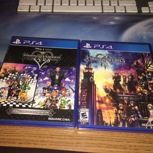 Kingdom Hearts 1.5 & 2.5 & 3 for Sale in Phoenix, AZ