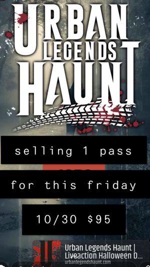 Urban Legends Haunt for Sale in Santa Fe Springs, CA