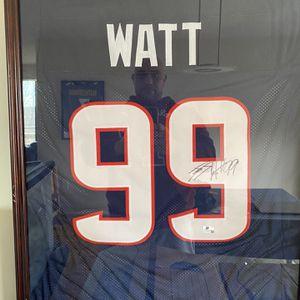 Jj Watt Autograph Jersey for Sale in McLean, VA