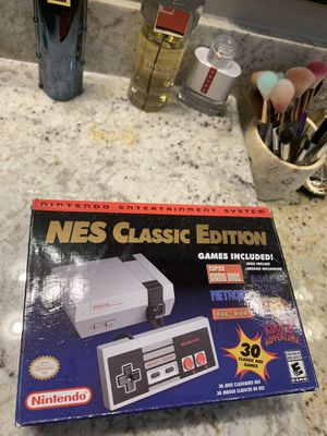 Nintendo Nes classic edition for Sale in Houston, TX