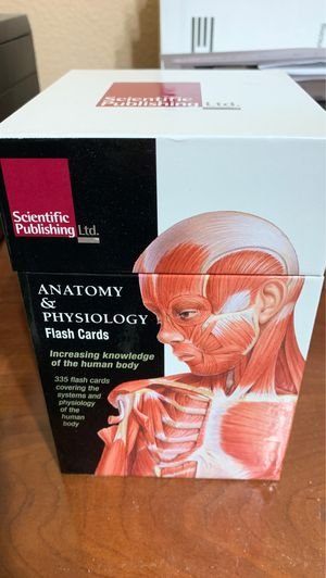 Anatomy & Physiology flash cards for Sale in Humble, TX