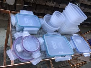 Snapware Tupperware Food Storage Containers for Sale in Piedmont, CA