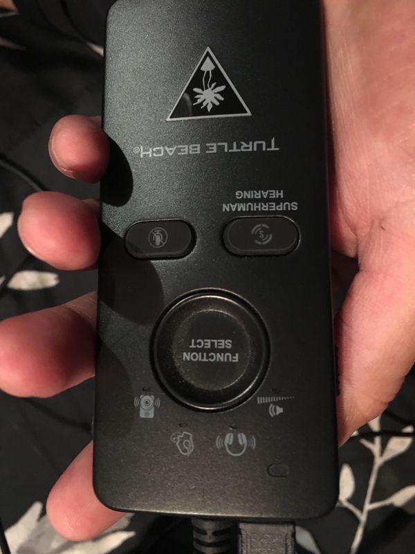 Turtle Beach gaming headset with Superhuman hearing