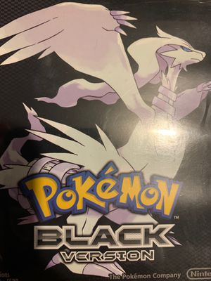 Pokémon game, Pokémon Black for Sale in Cicero, IL
