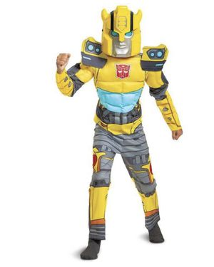 Bumblebee Boys Costume ( Transformer) for Sale in Germantown, MD