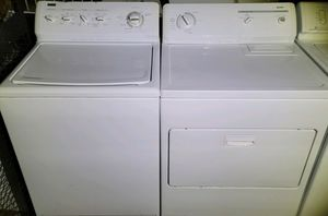 """KENMORE"" MATCHING SET WASHER AND ELECTRIC DRYER SUPER CAPACITY PLUS 3.8 cu ft for Sale in Phoenix, AZ"