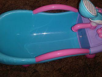 Baby Bathtub For Babydoll for Sale in Wichita,  KS