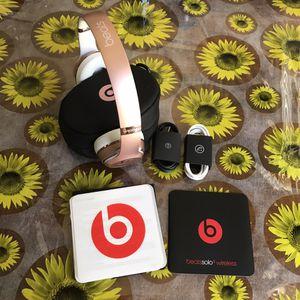 BeatsSolo ³Earphones Wireless Gold Rose for Sale in Escondido, CA