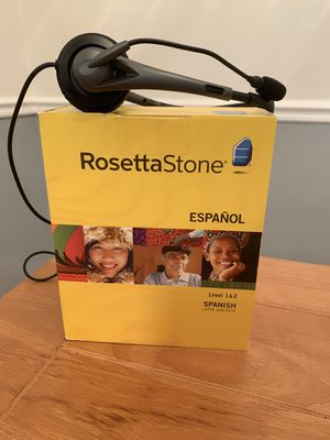 Rosetta Stone Spanish Level 1-2 for Sale in Woodbridge, VA