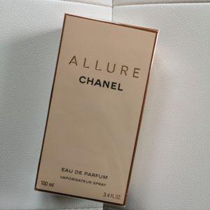 Chanel Allure Perfume EDP 3.4 oz 100ml for Sale in Des Plaines, IL