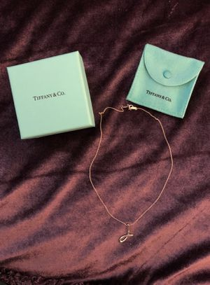 Sterling Tiffany co necklace for Sale in San Jose, CA