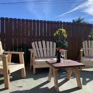 Handmade Patio Outdoor Set for Sale in Los Angeles, CA