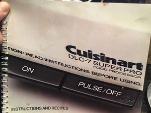 Cuisinart DLC7 Super Pro Food Processor for Sale in Laguna Beach, CA