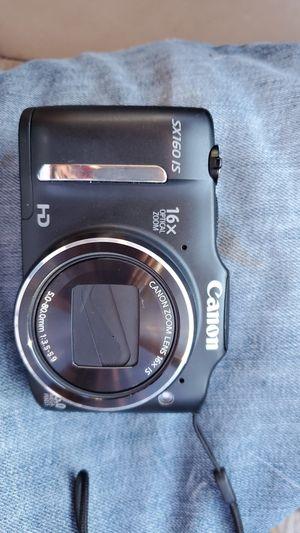 Canon sx160 camera for Sale in Oakland, CA