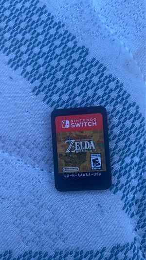 Zelda breath of the wild Nintendo switch for Sale in Mansfield, OH