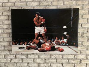 Ali vs Liston boxing knockout print for Sale in Torrance, CA