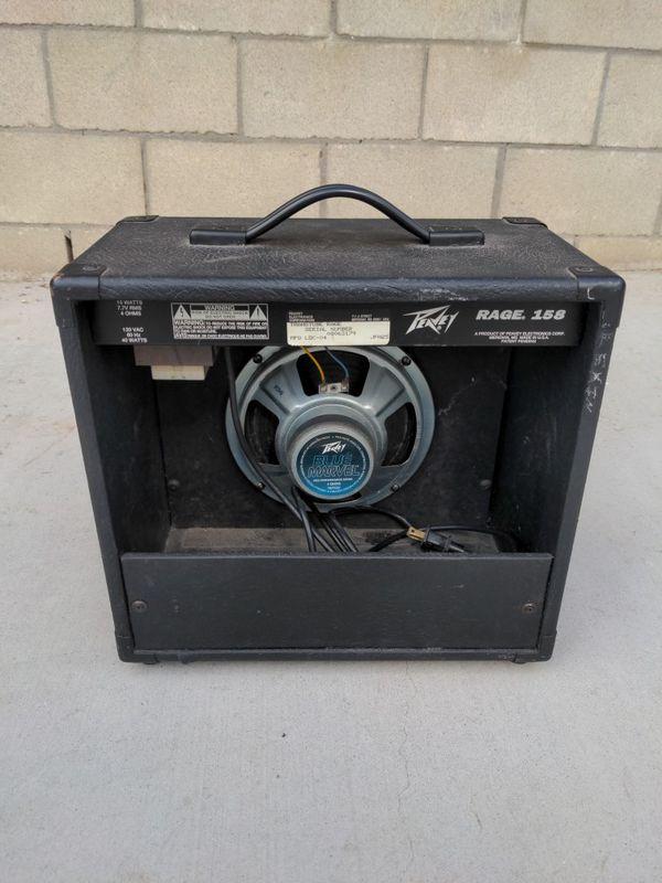 Peavey Rage 158 Silverline w/Blue Marvel Speaker