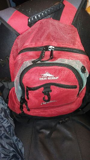 Backpack with rain cover for Sale in Tampa, FL