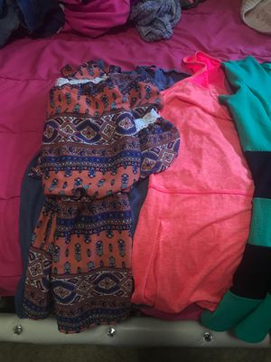 Girls size 14 dresses/romper/cardigan for Sale in West Richland, WA