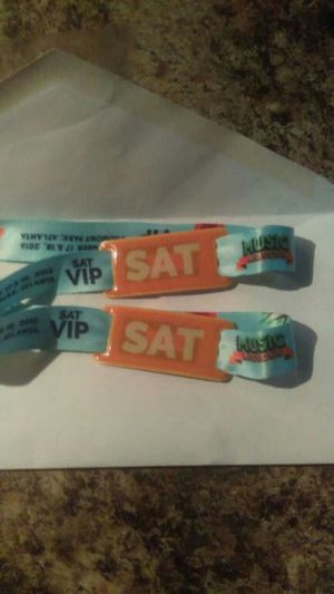 Music fest tickets VIP style for Sale in Atlanta, GA