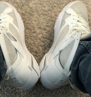 241ee9874d5395 Jordan 7 pure platinum size 12  80 sale or trade for Sale in Cypress