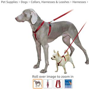 PetSafe Sure-Fit Harness Adjustable Dog Harness from the Makers of the Easy Walk Harness RED SMALL for Sale in Las Vegas, NV