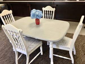 Newly Refinished Farmhouse Dining Table Set (DELIVERY AVAILABLE) for Sale in Springfield, VA